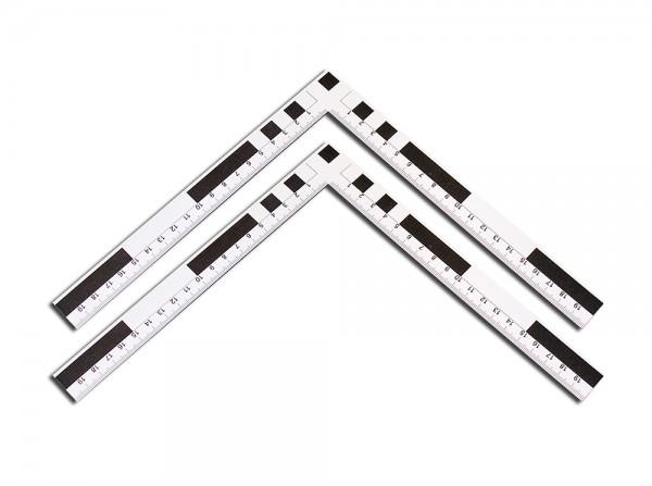 Fotomaßstab Magnetfolie 20 cm 2er-Pack