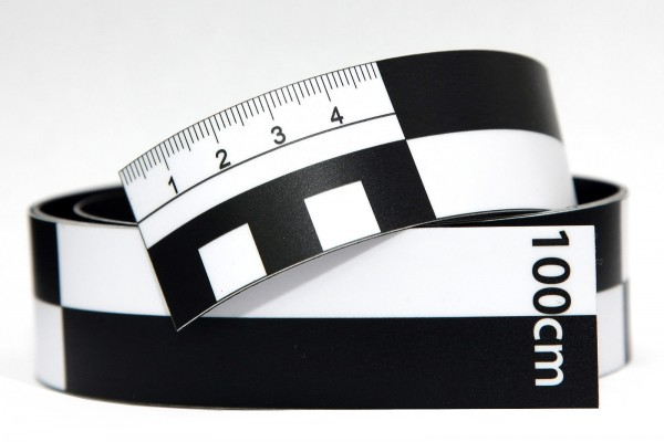 Fotomaßstab Magnetfolie 100 cm