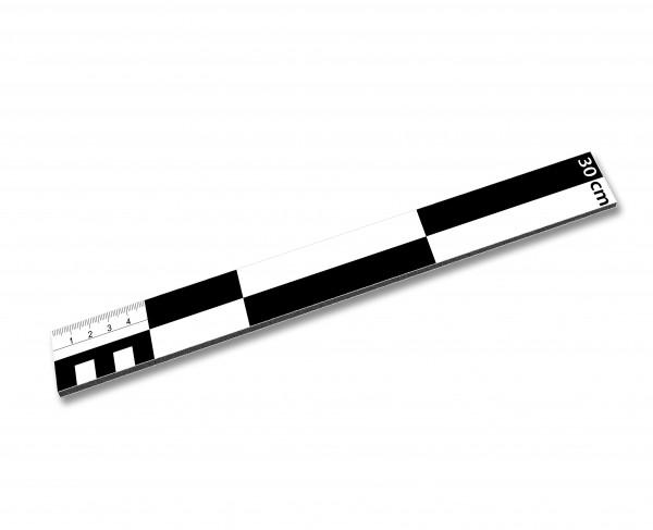 Fotomaßstab Dibond 30 cm
