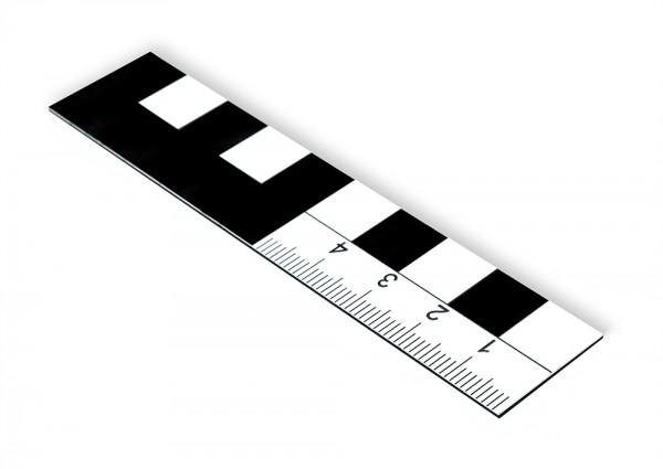 Fotomaßstab Magnetfolie 10 cm