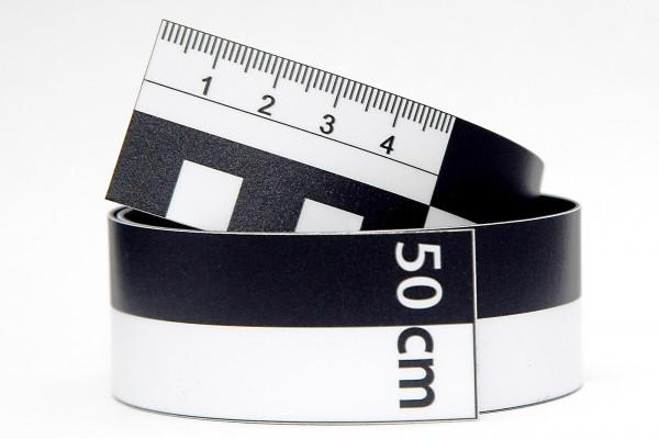 Fotomaßstab Magnetfolie 50 cm