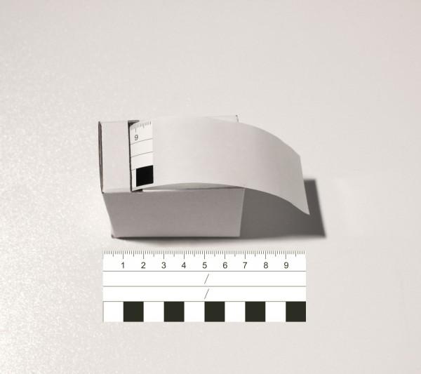 Fotomaßstab Aufkleber PP-Folie 10 cm