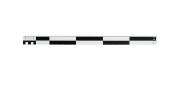 Fotomaßstab Dibond 100 cm